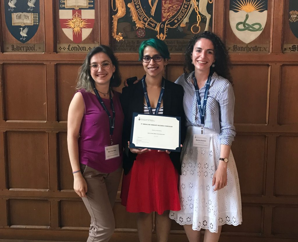 Joyita Chakraborty Wins People's Choice Award for Poster Presentations