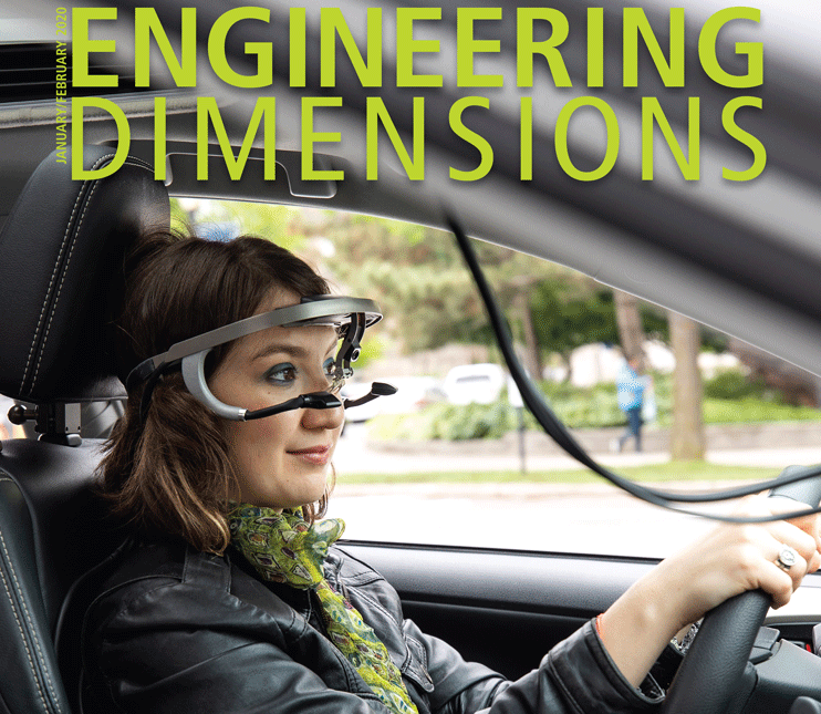 HFASt Lab featured on Engineering Dimensions January/February Issue