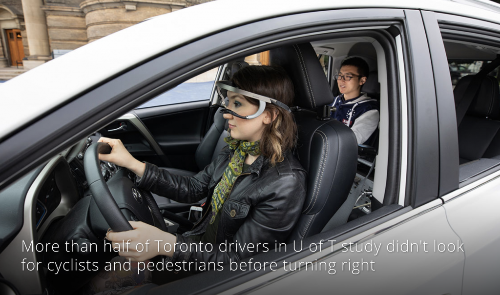 Intersection safety study featured on CBC News