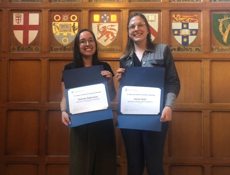 Students Win Best Poster Awards at MIE Research Symposium 2019